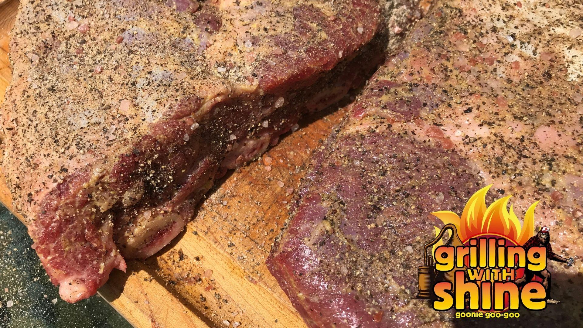 making marinade for hanger steak