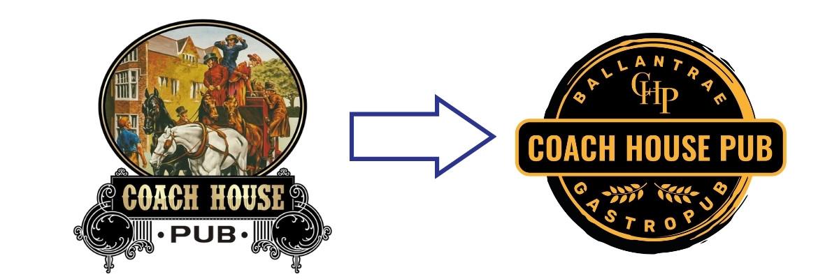 Coach House Pub rebranding