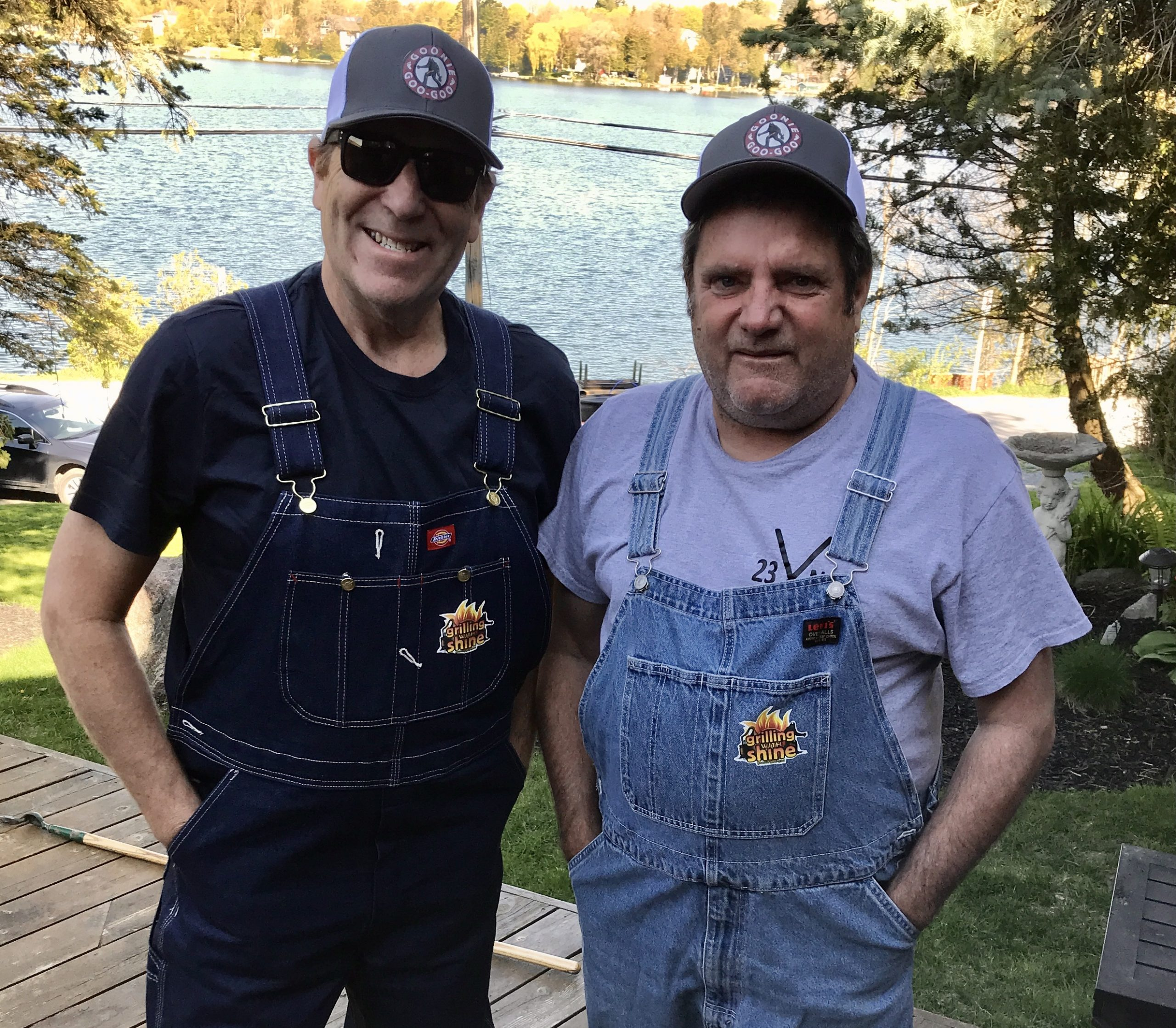 sven mcoy and troy de bois hosts of grilling with shine