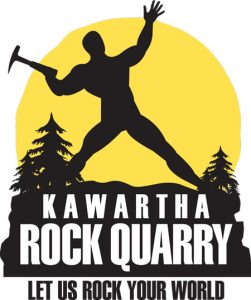 kawartha rock quarry logo