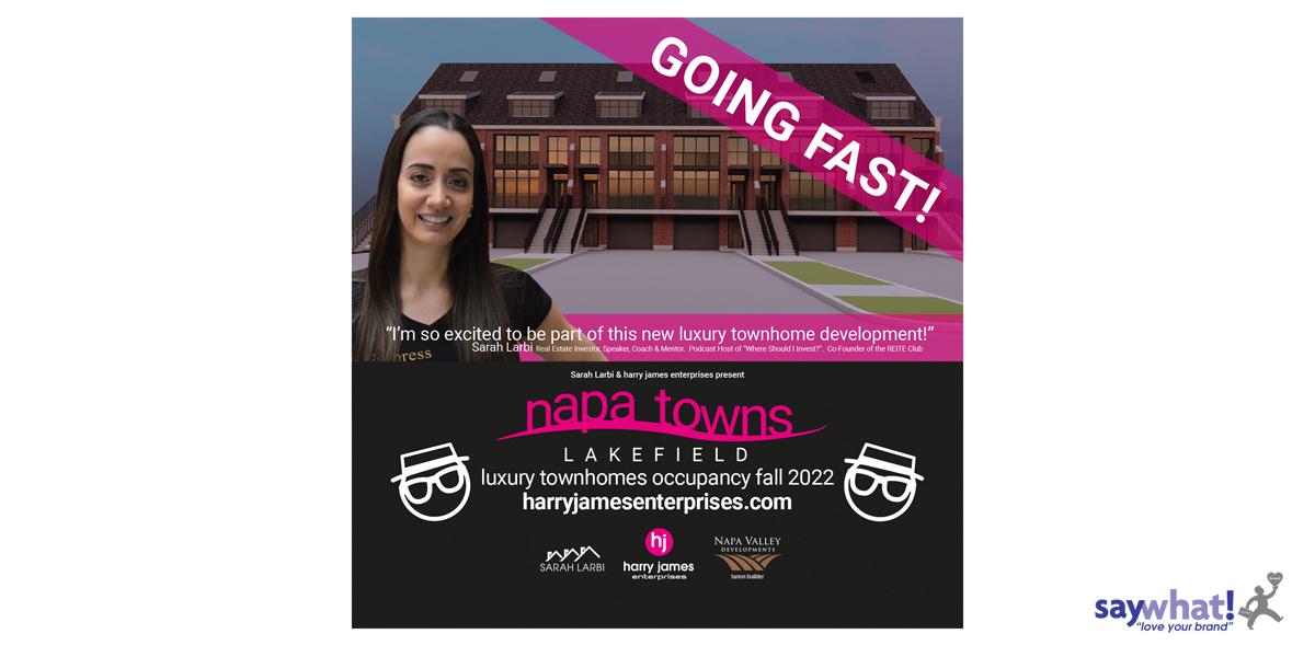 Napa Towns signage