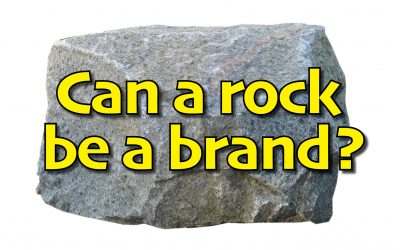 Can a rock be memorable?