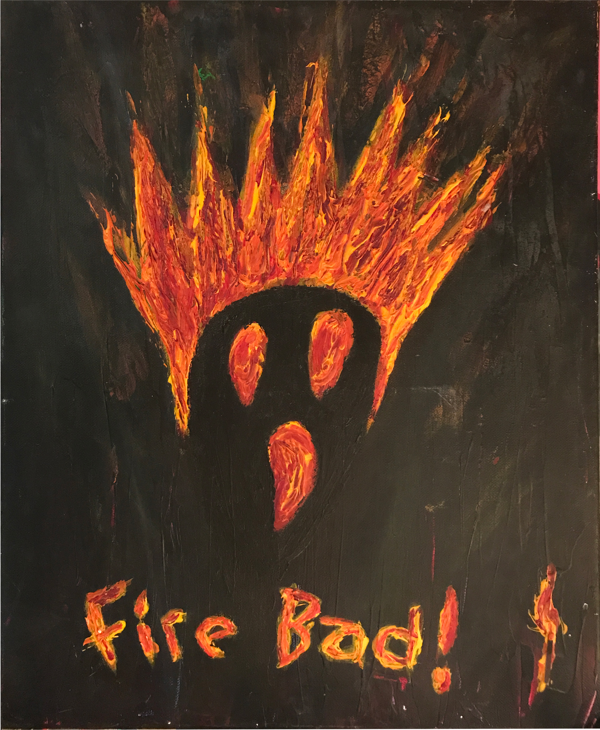 fire bad by Grant Ivens