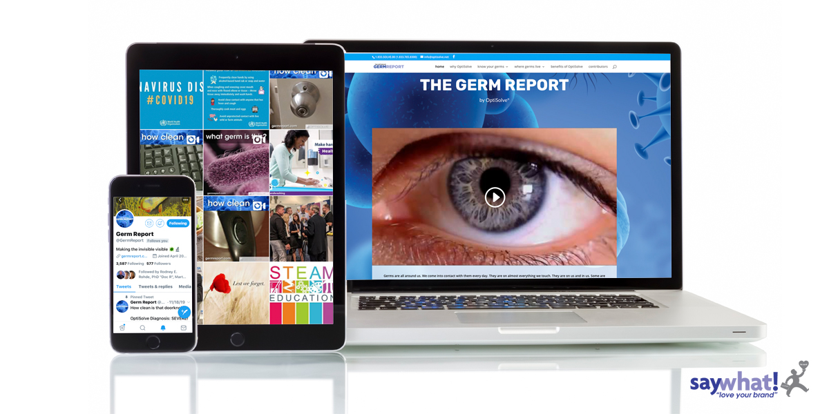 OptiSolve Germ Report Social