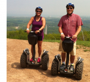 say what on segway at blue