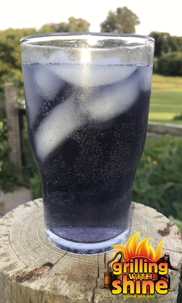 bottle of fancy ass tonic water