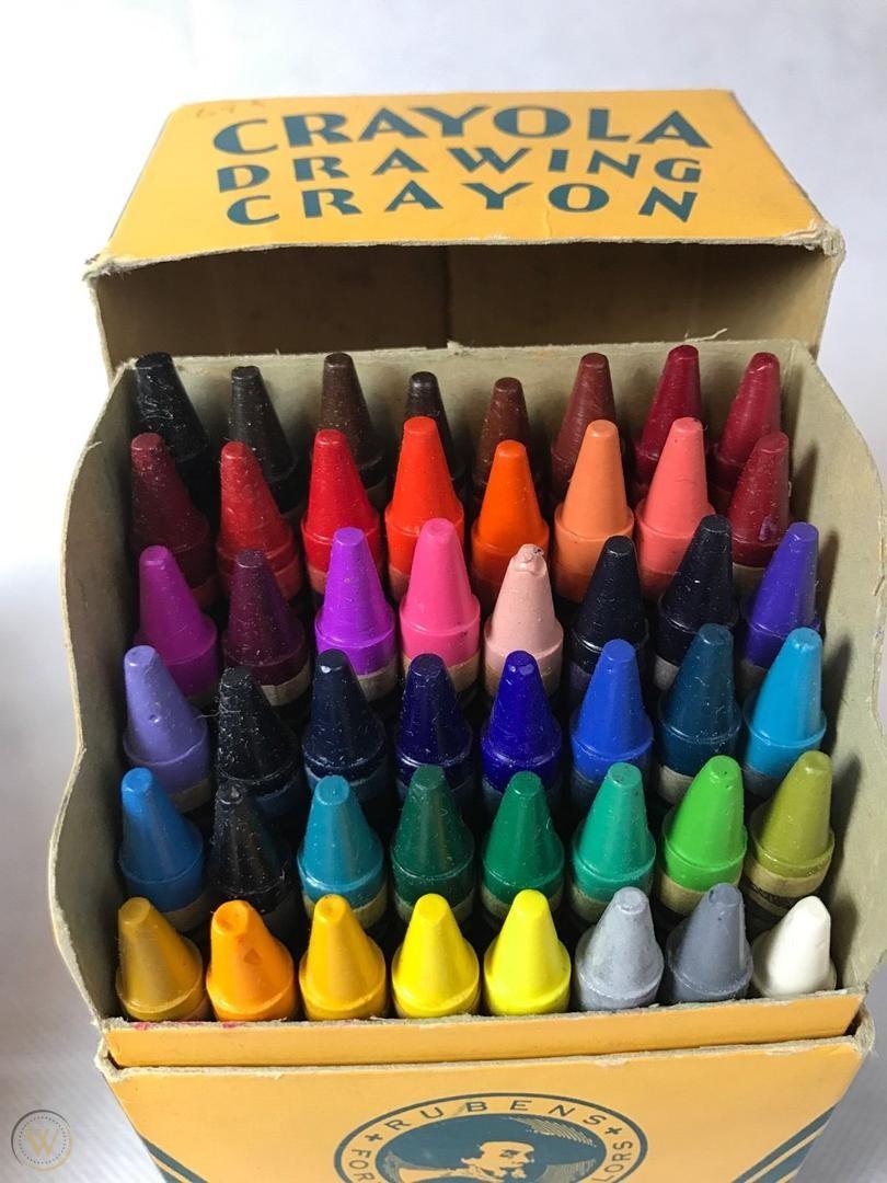 crayola box of crayons